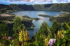 Sete Cidades Half-Day Tour Explore 7 Cidades e Vista do Rei, the most famous viewpoints of Sete Cidades, Portugal. Spend a half-day overlooking  the crater and south coast of the island, and the famous blue and green lakes.    9 am - Pick up in Hotel or in city center9:20 am - Carvao pointview - you can see both the north and south sides of the island 9:30 am - Empadadas Lake, located around the volcano of Sete Cidades and is considered of unique natural be...