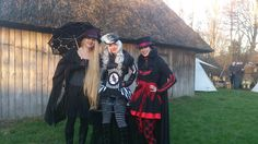 Me & friends at the Midwinter fair in Alphen, 2014