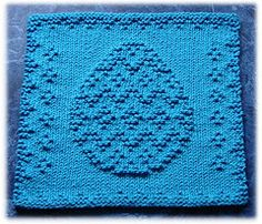 Ravelry: Easter Egg Dishcloth pattern by Rachel van Schie