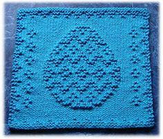 Ravelry: Easter Egg Dishcloth pattern by Rachel van Schie