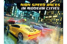 Увлекательная и динамичная игра «Высокоскоростные гонки: Дорожные бандиты» на устройство андроид. Сюжета здесь нет, просто осуществляются разные заезды на очень мощных машинах. Пользователю предстоит быть владельцем самого быстрого спорткара, и участвовать н