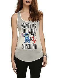 HOTTOPIC.COM - Disney Lilo & Stitch Nobody Gets Left Behind Girls Tank Top