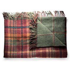 Reversible Merino Wool Blanket