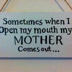 Happens more often the older I get...