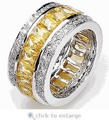 1000 Images About Canary Diamond Quality Cubic Zirconia Jewelry On Pinterest