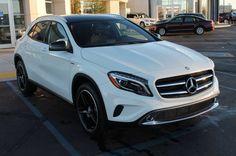 2015 Mercedes-Benz GLA-Class 4MATIC 4dr GLA250 Exterior: Cirrus White (White) Interior: Nut Brown (Brown) Status: In Stock Mileage: 89 Engine: Intercooled Turbo Premium Unleaded I-4 2.0 L/121 Transmission: Automatic STK#B2755