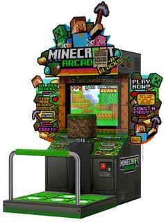 i saw a minecraft arcade machine but it was only a dream… LOL, nice dream :)