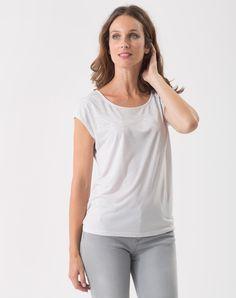 Tee-shirt gris pâle Pluie T-Shirts 1-2-3.fr