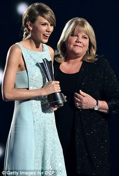 Referring to her look-alike child as her 'constant companion,' the moment was all the more heartwarming following Taylor's announcement on April 9 that her mother was diagnosed with cancer after she had urged her mother to get screened. The type of cancer hasn't been made public.