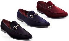 finest selection 4d559 fab02 Groupon - Henry Ferrera Men s Slip-On Velvet Smoking Shoes. Groupon deal  price