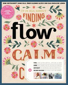 Client: Flow Magazine Art Director: Astrid van der Hulst Cover lettering and illustration for Dutch issue 6 for Flow magazine. Balloon Illustration, Love Illustration, Book Cover Design, Book Design, Real Simple Magazine, Hand Painted Ornaments, Publication Design, Co Working, Hobbies And Crafts