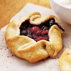 Grandmother's fried pies inspired these individual tarts, brimming with fresh, in-season summer berries. You can assemble this 30 minutes...