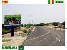 Mauritania - Senegal border