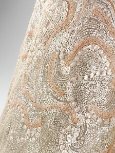 Detail Evening dress House of Dior (French, founded 1947) Designer: Christian Dior (French, Granville 1905–1957 Montecatini) Date: 1952–53 Culture: French Medium: silk, horsehair