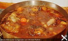 Gebundene Ochsenschwanzsuppe (Rezept mit Bild) von Blacky689   Chefkoch.de