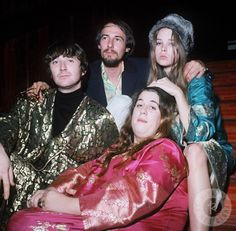 The Mamas & the Papas - 1960 by Dezo Hoffmann