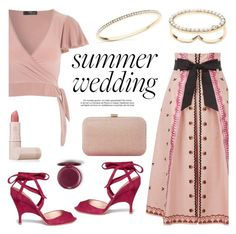 """Summer Weddings"" by littlehjewelry ❤ liked on Polyvore featuring Temperley London, Jane Norman, Alchimia Di Ballin, Dune, Lipstick Queen, summerwedding, contestentry, pearljewelry and littlehjewelry"