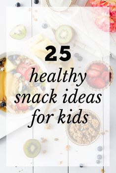 25 Healthy Snack Ideas for Kids Food & Recipes Healthy Food Swaps, Healthy Snack Options, Healthy Foods To Eat, Real Food Recipes, Healthy Snacks, Snack Recipes, Healthy Kids, Keto Recipes, Homemade Larabars