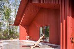 Casa Vermelha em estilo sueco