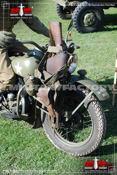 Picture of the Harley Davison WLA