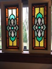 Image result for stained glass panels for cabinet doors