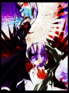 Saint Beast by Asagi Sakura: Kirin no Yuda & Houou no Luca <3<3<3