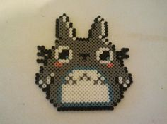 Totoro perler beads.