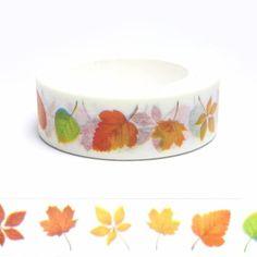 Fall leaves washi tape