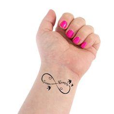Infinity Tattoo Wedding Tattoo Couple Tattoo Infinity Symbol Name Tattoo Cursive Names Custom Tattoo Personalized Tattoo Name Tattoos For Moms, Tattoos With Kids Names, Family Tattoos, Tattoos For Daughters, Mom Tattoos, Wrist Tattoos, Tattoos For Women Small, Couple Tattoos, Tribal Tattoos