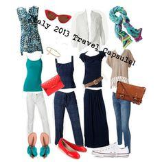 Neutral-turquoise/ travel capsule wardrobe
