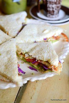 BOMBAY SANDWICH   MOM'S CHUTNEY SANDWICH