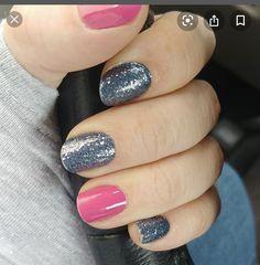 Cute Nail Colors, Nail Color Combos, Diy Nails, Cute Nails, Pretty Nails, Fabulous Nails, Perfect Nails, Nails Only, Classy Nails