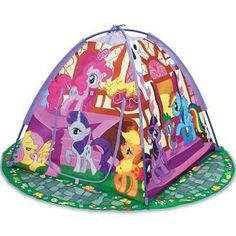 "Moose Mountain My Little Pony Ponyville Playtent - Moose Mountain - Toys ""R"" Us - Rylee has this - I don't recommend this tent to anyone - It's a piece of crap"