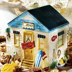 Beach House Cookie Jar