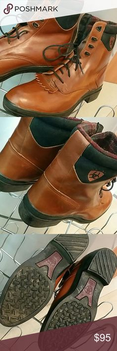 Ariat Boots☺Offer button ready Excellent used condition  Light brown /  mohogany color Ariat  Shoes Boots