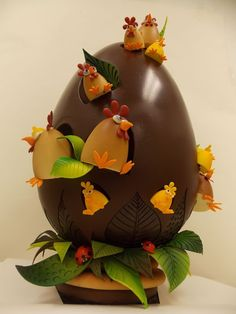 A bakery in NY has a 3-feet tall chocolate Easter egg for $1,000
