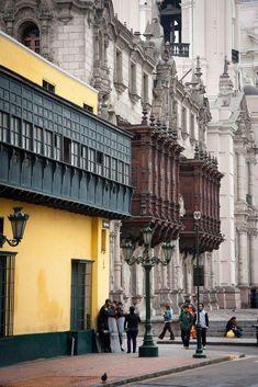Casa Pudor y Palacio Arzobispal de Lima Perú