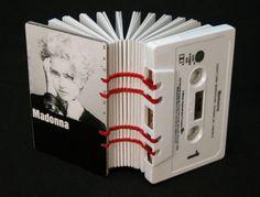 Cassette Tape Books by Erin Zamrzia