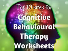 Finding clinically-sound, easy-to-access CBT worksheets can be the therapist's challenge. Here's a list of ten of the best CBT resource sites for you to use as a reference point for your practice. Cbt Therapy, Therapy Tools, Therapy Ideas, Play Therapy, Counseling Activities, Therapy Activities, Coping Skills, Social Skills, Cognitive Behavioral Therapy Worksheets