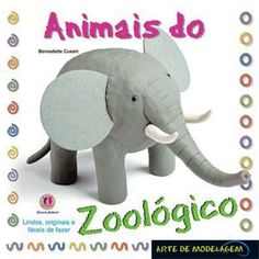 Dica de livro infantil: Animais do Zoológico! Para crianças que gostam de brincar com massinha!