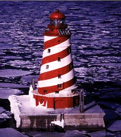 Michigan..because I love my lighthouses and still have trouble imagining that the Great Lakes are large enough to require them.