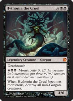 Hythonia-the-Cruel-FOIL-x4-Magic-the-Gathering-4x-Theros-mtg-mythic-rare-lot