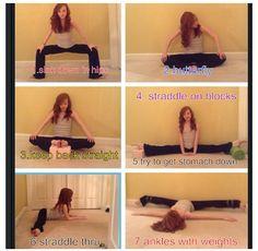 Improve your middle splits @Lauren Velez Beck @Anna Totten Bridgers @Inga beck @Sarah Chintomby O'Neal @Autumn Eaken Holleman