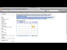 Free Technology for Teachers: A Handful of Google Calendar Tutorials for Teachers