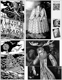 Henry Holiday's Snark illustrations: http://www.snrk.de --- See also: https://www.academia.edu/9984501/Queen_Elizabeth_I_meets_the_Boojum