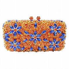 Crystal Rhinestone Evening Bag Clutch Purse  20. Luxury handmade evening  bags ... e79437e43333
