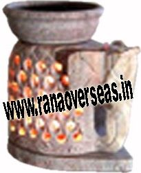 Marble/ Soap Stone  Burner Rana Overseas leading Manufacturer, Supplier and Exporter of Marble/ Soap Stone  Burners.  We have wide range of hand carved Burners and the great skills done by the artisans.