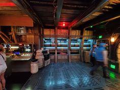 Star Wars Decor, Star Wars Art, Star Wars Design, Park Resorts, Millennium Falcon, Disneyland Resort, Live Events, Corridor, Design Reference