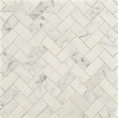 Statuary Stone Mosaic - traditional - bathroom tile - other metro - Rebekah Zaveloff