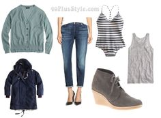 Fabulous and on sale this week: Jeans worn in 4 different ways: casual for the beach | 40plusstyle.com